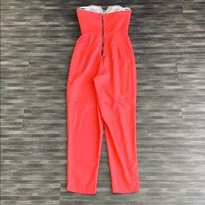 Naven Pants - NWT NAVEN Sleeveless V-Neck Sateen Jumpsuit